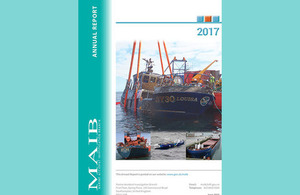 Front cover of MAIB Annual Report 2017