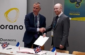 Orano and LLWR contract signing
