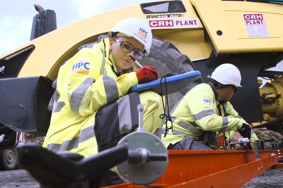 Nicole Williams, apprentice at Hinkley Point C