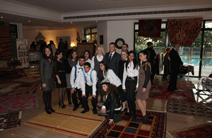Charity fundraiser at British Ambassador's residence