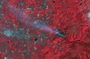satellite map of nepal