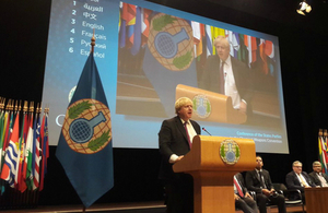 Foreign Secretary comments on vote at OPCW