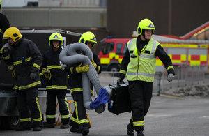 Sellafield Emergency Exercise