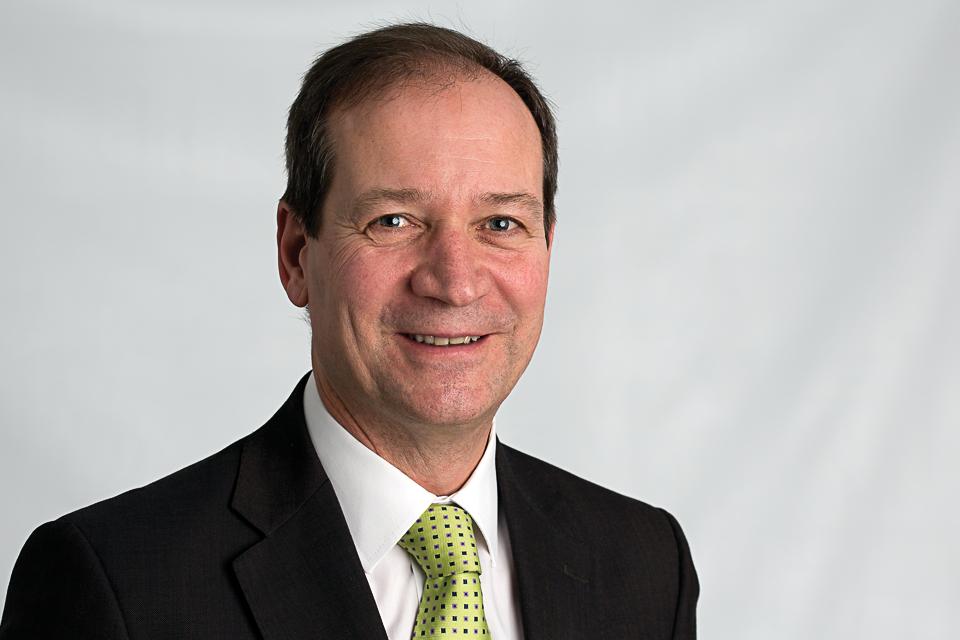 Graham Farrant, Chief Executive and Chief Land Registrar