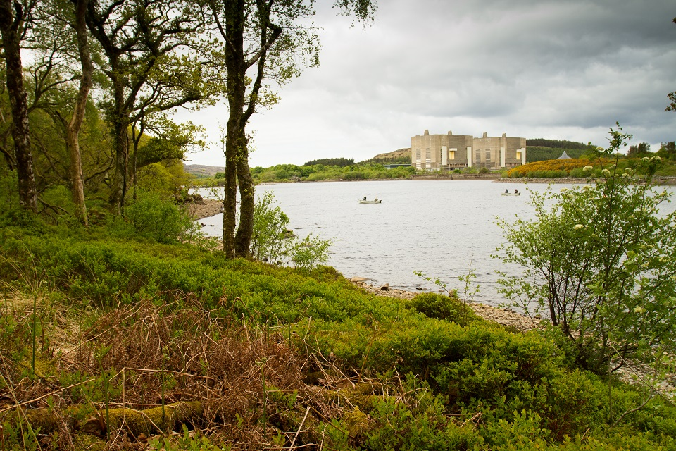 Lake at Trawsfynydd