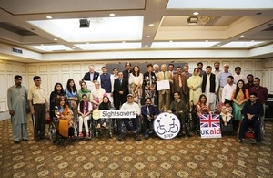 The UK hosts the Disability Summit in Pakistan