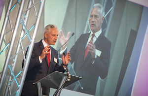 David Peattie addresses delegates at the NDA Stakeholder Summit