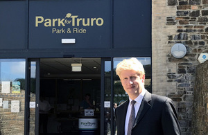 Jo Johnson in Truro