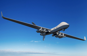 Protector, a new Remotely Piloted Air System (RPAS) ordered for the Royal Air Force