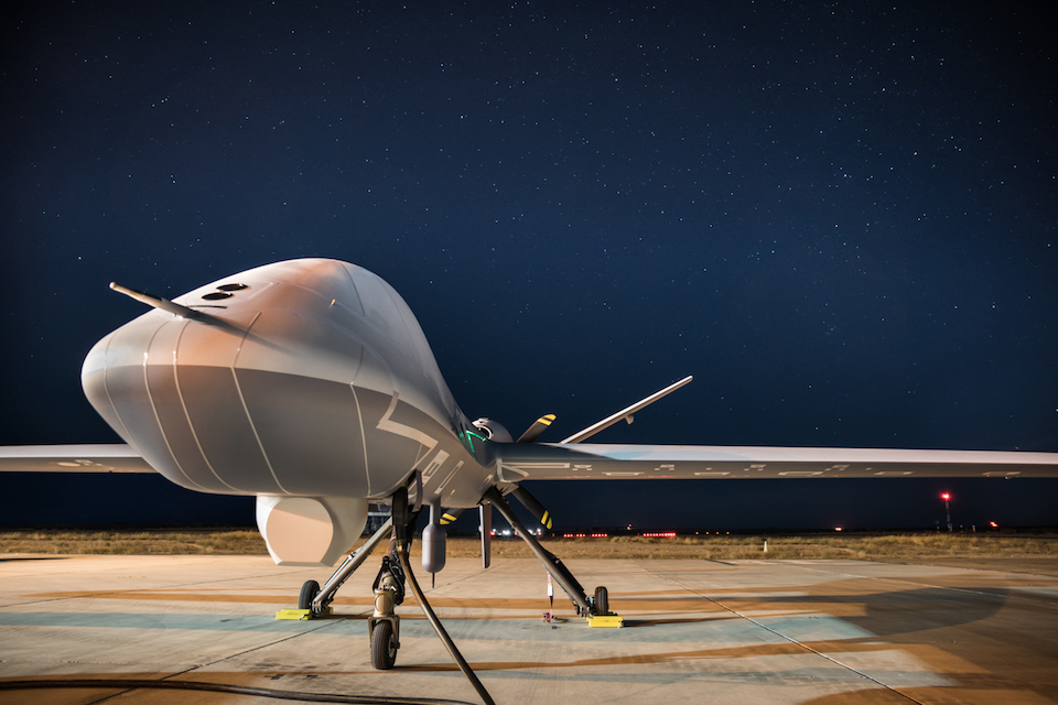 Protector, a new Remotely Piloted Air System (RPAS) ordered for the Royal Air Force.
