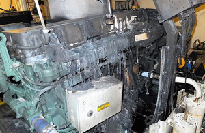 Damage to main engine
