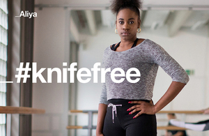 #knifefree campaign image