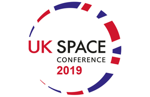 Logo for the UK Space Conference 2019