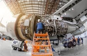 Jet air craft engine