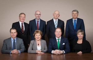 Photo of all the Traffic Commissioners for Great Britain