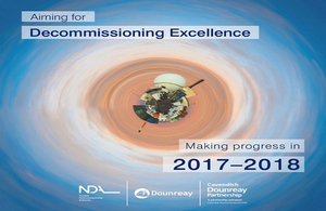 Front page of making progress in 2017-18 brochure