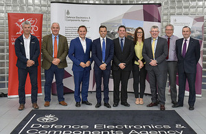 Jason Leeks, DECA Head of Strategy and Governance hosted the Deeside Enterprise Zone (DEZ) Board and Welsh Government's Economy Secretary, Mr Ken Skates who was in attendance at this particularly important meeting of the Enterprise Zone Board.