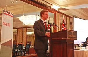 British Ambassador Stephen Lillie