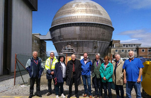 The Committee on Radioactive Waste Management at Sellafield.