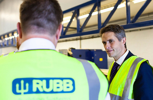 Defence Secretary highlights North East's military footprint at Gateshead defence firm.