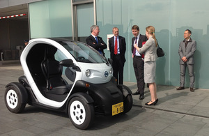 Mr Michael Fallon visits Nissan HQ