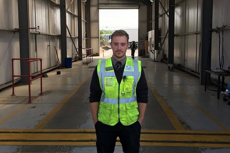 Image of Shane Allen, vehicle standards assessor