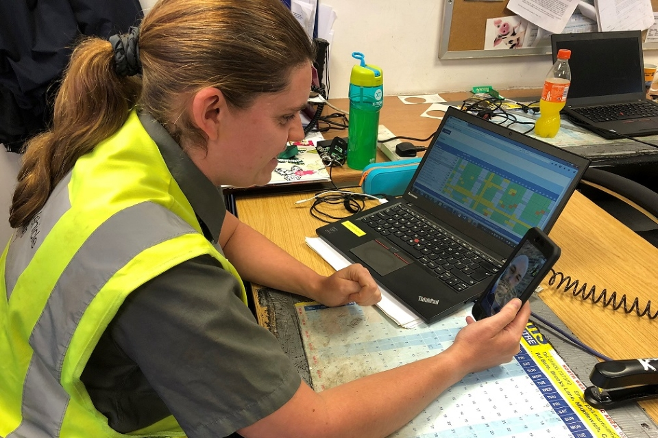 Image of Ruth James, technical team leader
