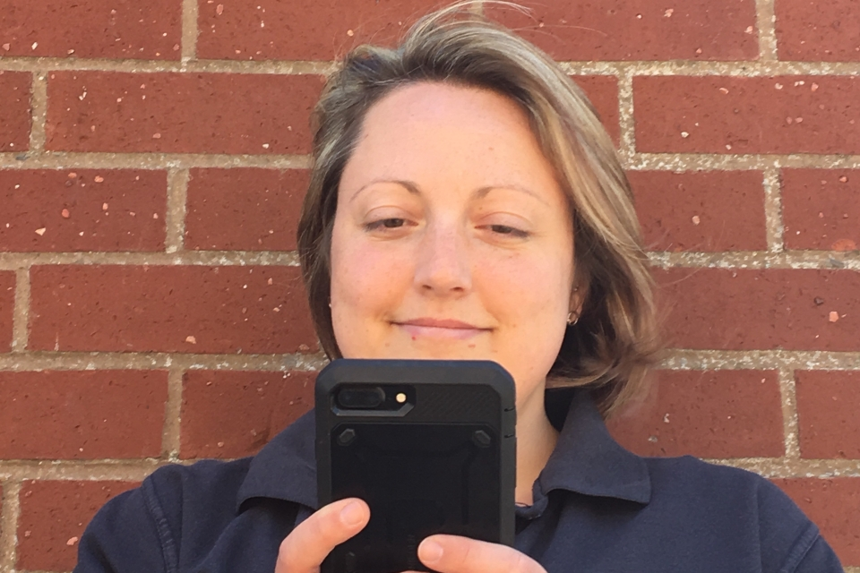 Image of Helen Meechan, traffic examiner
