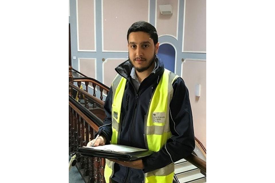 Image of Aqib Chishtee, driving examiner