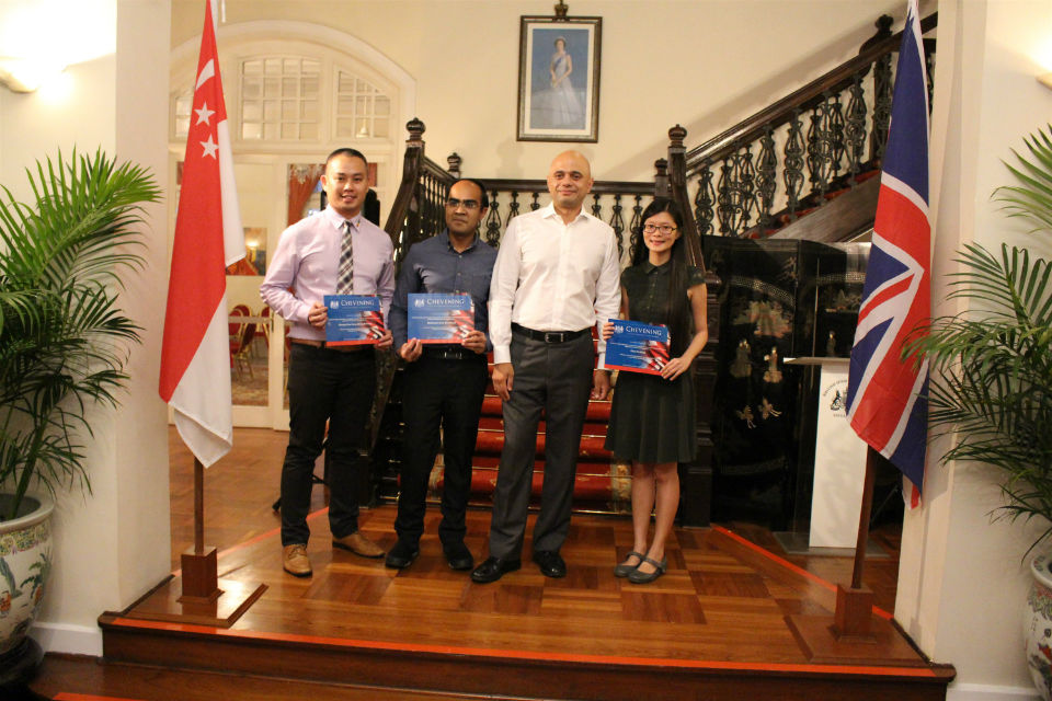 Recipients of the Chevening and Commonwealth Awards 2017