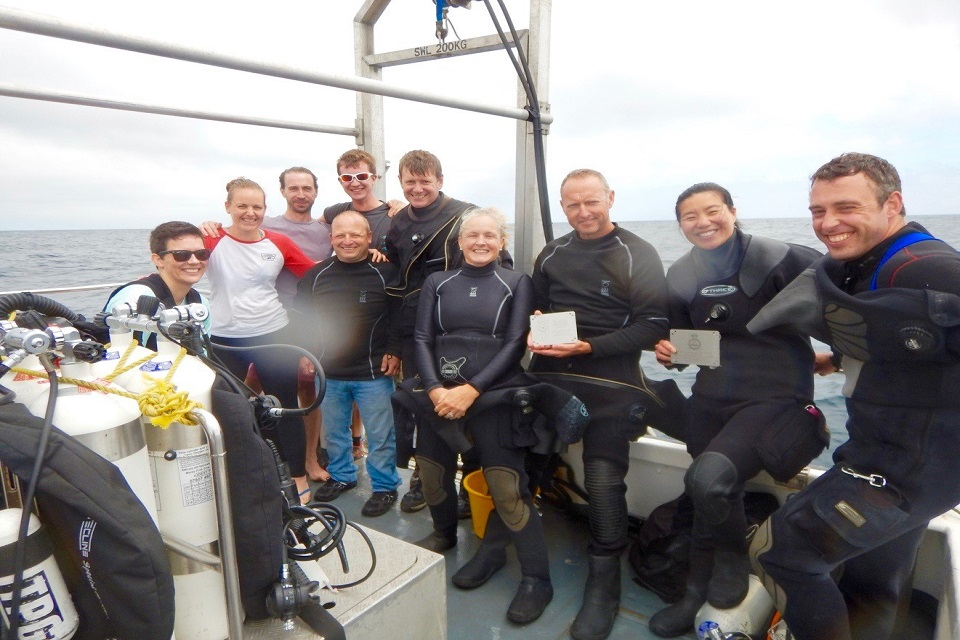On the 21 July 2018, the Defence Medical Services Diving Association dived the wreck of His Majesty's Hospital Ship Glenart Castle
