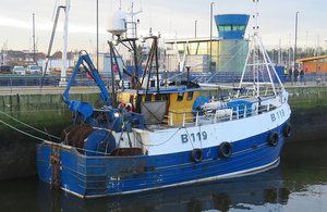 Illustris alongside another fishing vessel