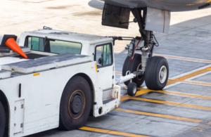 Air plane tow truck