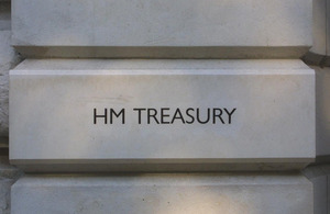 HM Treasury entrance