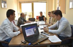 Chevening pre-departure briefing for Turkmen scholars