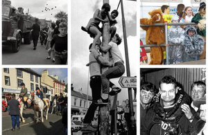 Images of Egremont Crab Fair through the years.