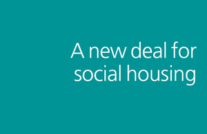 A new deal for social housing