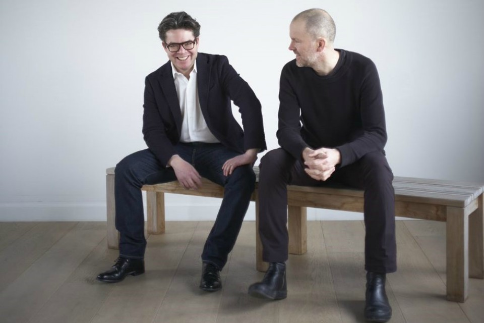 Torquil McIntosh and Simon Mitchell, co-founders, Sybarite, architectural practice.