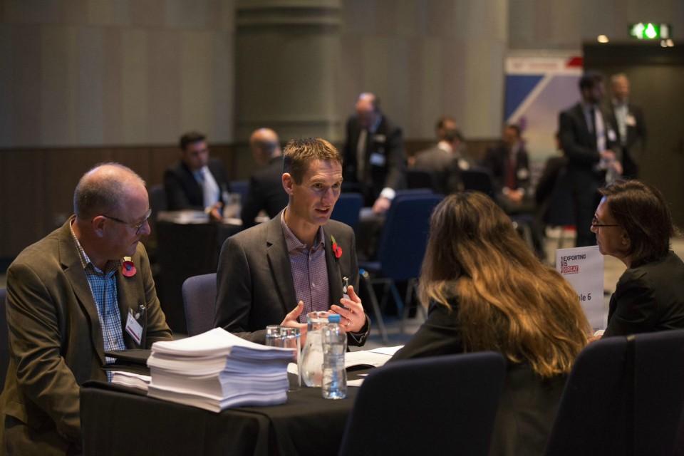 UKEF supplier fair, maximising opportunities for UK exporters.
