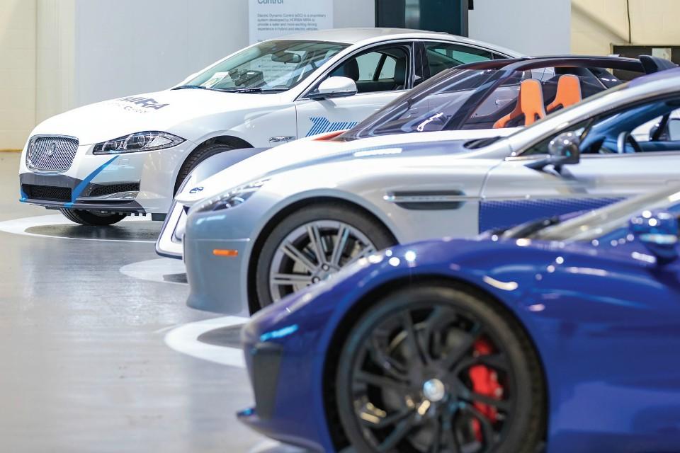 YASA powered cars