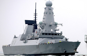 HMS Duncan is the 6th and final of the UK's Type 45 destroyers [Picture: Leading Airman (Photographer) Ben Sutton, Crown copyright]