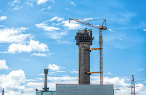 The 152m crane is the tallest structure ever built at Sellafield