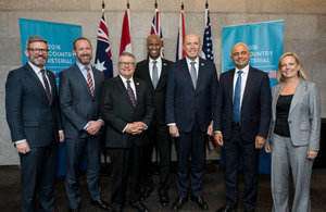 Home Secretary at the Five Country Ministerial