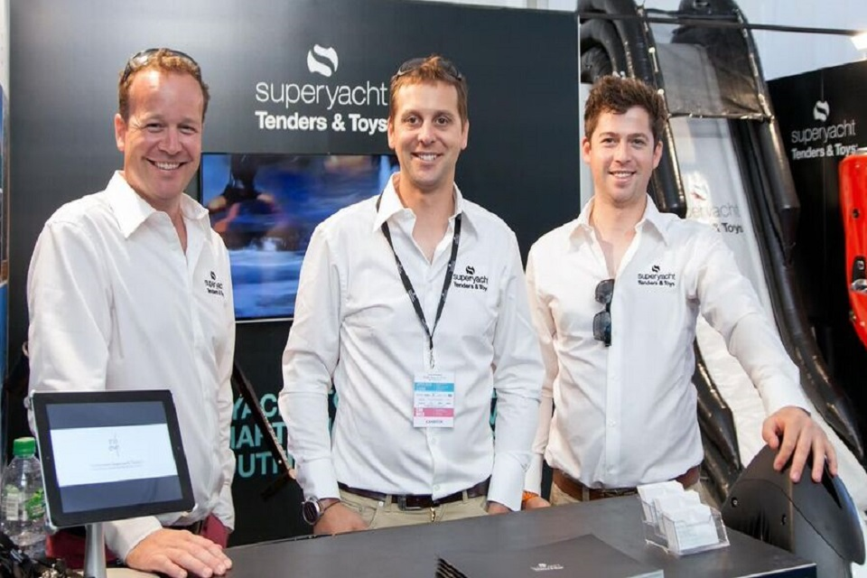 Picture of cofounder Josh Richardson with two colleagues.