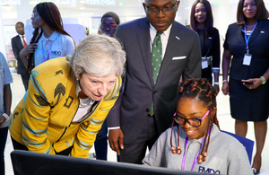 Prime Minister Theresa May at FMDQ