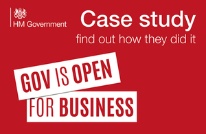 SmartSourcing winning government contracts - Case study - GOV UK