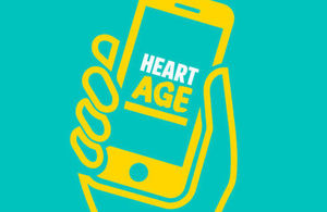 PHE's Heart Age campaign will run until 30 September. Adults are encouraged to search 'heart age' to take the free online test.