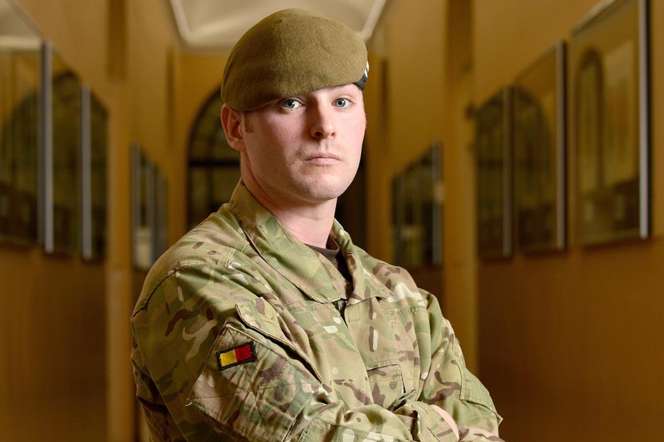 Lance Corporal Lawrence Kayser MC