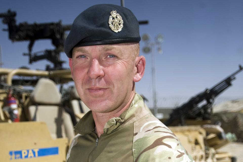 Sergeant Roy Geddes MC