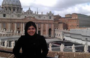 Baroness Warsi at the Vatican